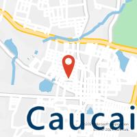 Mapa com localização da Agência AGC TABULEIRO GRANDE