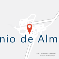 Mapa com localização da Agência AGC TAUAPE