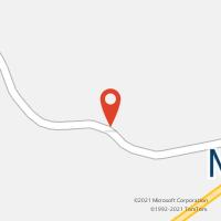 Mapa com localização da Agência AGC UMARI