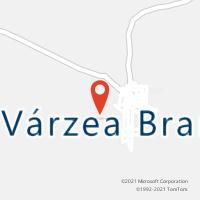 Mapa com localização da Agência AGC VARZEA BRANCA