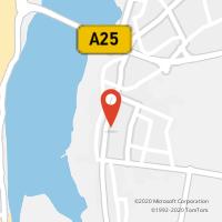Mapa com localização da Loja CTTAgente Payshop - A Tasca do Jorge