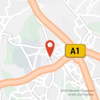 Mapa com localização da Loja CTTAgente Payshop - Café Almeida