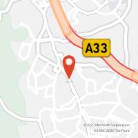 Mapa com localização da Loja CTTAgente Payshop - Charneca Press