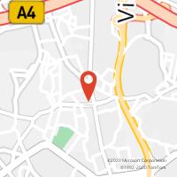 Mapa com localização da Loja CTTAgente Payshop - Papelaria do Souto