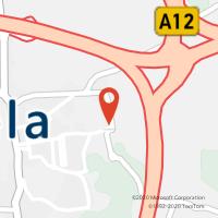 Mapa com localização da Loja CTTAgente Payshop - Papelaria Intermarché