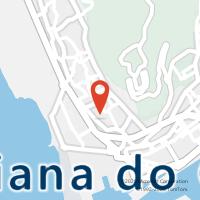 Mapa com localização da Loja CTTAgente Payshop - Supermerc Bom Preço III