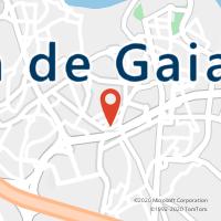 Mapa com localização da Loja CTTAgente Payshop - Tabacaria Cristal