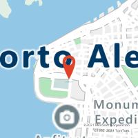 Mapa com localização da Agência AGF AVENIDA FRANCA