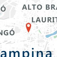 Mapa com localização da Agência AGF BAIRRO PRATA