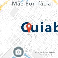 Mapa com localização da Agência AGF BARAO DE MELGACO