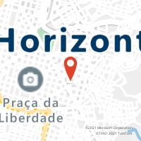 Mapa com localização da Agência AGF BERNARDO MONTEIRO