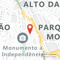 Mapa com localização da Agência AGF CAETANO ALVARES