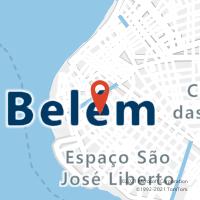 Mapa com localização da Agência AGF DEZESSEIS DE NOVEMBRO