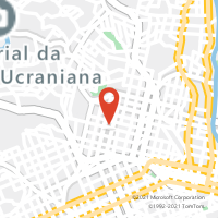 Mapa com localização da Agência AGF FANNY