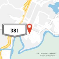 Mapa com localização da Agência AGF FERNANDO DE NORONHA