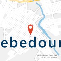 Mapa com localização da Agência AGF JARDIM PARAISO