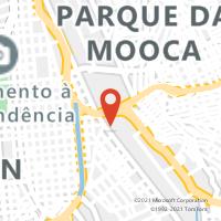 Mapa com localização da Agência AGF JARDIM REGINA