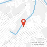 Mapa com localização da Agência AGF JARDIM SABARA