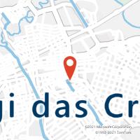 Mapa com localização da Agência AGF JOSE BONIFACIO