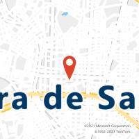 Mapa com localização da Agência AGF KALILANDIA