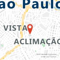 Mapa com localização da Agência AGF LEAO XIII