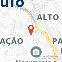 Mapa com localização da Agência AGF MARIA MONTESSORI