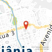 Mapa com localização da Agência AGF PRACA DO BOTAFOGO