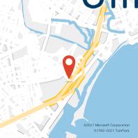 Mapa com localização da Agência AGF SALGADINHO