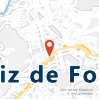 Mapa com localização da Agência AGF SANTA RITA