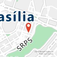 Mapa com localização da Agência AGF SETOR INDUSTRIAS GRAFICAS