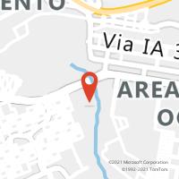 Mapa com localização da Agência AGF SIA POSTAL