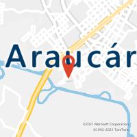 Mapa com localização da Agência AGF VICTOR DO AMARAL