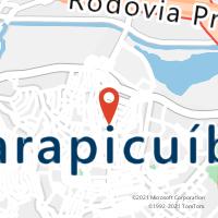 Mapa com localização da Agência AGF VILA ARTEM