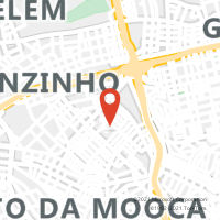 Mapa com localização da Agência AGF VILA CLEMENTINO