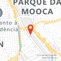 Mapa com localização da Agência AGF VILA INVERNADA