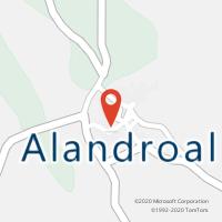 Mapa com localização da Loja CTTALANDROAL