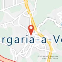 Mapa com localização da Loja CTTALBERGARIA A VELHA