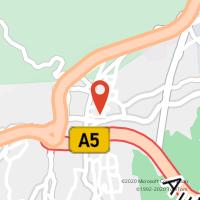 Mapa com localização da Loja CTTALCABIDECHE