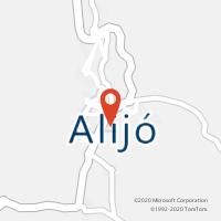 Mapa com localização da Loja CTTALIJÓ