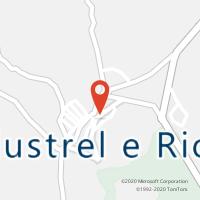 Mapa com localização da Loja CTTALJUSTREL
