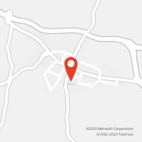 Mapa com localização da Loja CTTALMANCIL