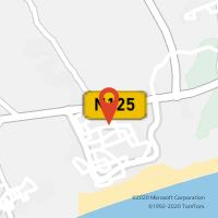 Mapa com localização da Loja CTTALTURA