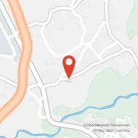 Mapa com localização da Loja CTTALVARAES
