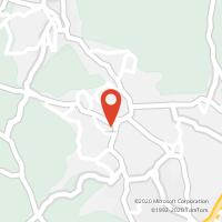Mapa com localização da Loja CTTALVARELHOS