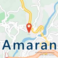 Mapa com localização da Loja CTTAMARANTE