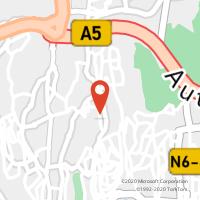 Mapa com localização da Loja CTTAMOREIRA (CASCAIS)
