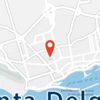 Mapa com localização da Loja CTTANTERO DE QUENTAL (P.DELGADA)