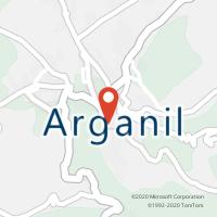Mapa com localização da Loja CTTARGANIL