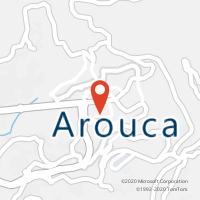Mapa com localização da Loja CTTAROUCA