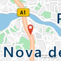 Mapa com localização da Loja CTTARRÁBIDA